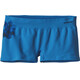 Patagonia W's Active Mesh Boy Shorts Dropdot Graphic: Radar Blue